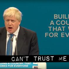 Watch: 'Can't Trust Me,' featuring UK Prime Minister Boris Johnson in a remix of MC Hammer's classic