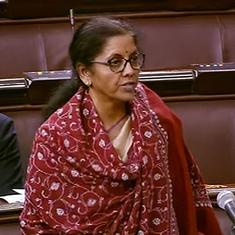 Parliament: Sitharaman says cut in corporate tax rates not just good PR, but also good reform