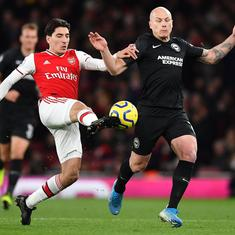 Premier League: Arsenal's winless streak extends to nine games after 1-2 defeat against Brighton