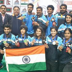 South Asian Games Badminton: Dhruv Kapila bags a double crown as India finish with four gold medals