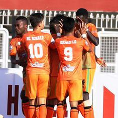 I-League: Neroca edge Aizawl to record season's first win, Gokulam Kerala down Arrows to go top