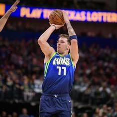 NBA: Luka Doncic matches Michael Jordan's record as Mavericks beat Pelicans; 76ers crush Cavaliers