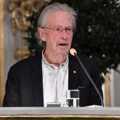 Peter Handke's Nobel Prize controversy makes one ask whether literature has a moral responsibility