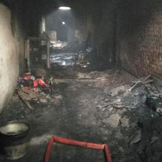Watch: Scenes from the aftermath of Delhi's Anaj Mandi fire where 43 people have died