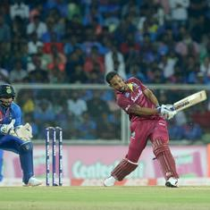 Second T20I: Opener Lendl Simmons punishes sloppy India as West Indies level series 1-1