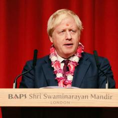 UK: Boris Johnson pledges support to PM Modi to build 'new India' in final election campaign push
