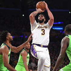 NBA wrap: Anthony Davis scores 50 as Lakers continue superb form, Herro the hero for Heat