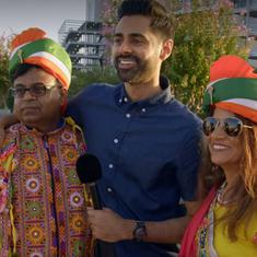 Watch: Indian in US blasts Hasan Minhaj for 'not respecting Modi', then poses with him for a photo