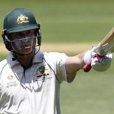Labuschagne's third successive century defies New Zealand in day-night Test at Perth