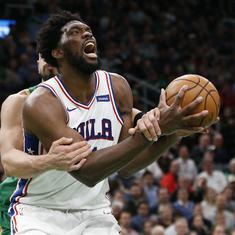NBA wrap: 76ers end Celtics' perfect home record, Doncic dazzles for Mavericks in Mexico City