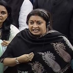 No, Rahul Gandhi did not say 'women should be raped', as minister Smriti Irani claimed in Parliament