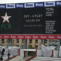 Pakistan vs Sri Lanka 1st Test: Fourth day's play called off due to poor light and overnight rain