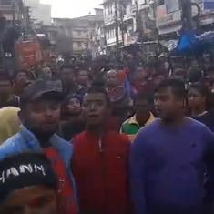 Watch: 15,000 protestors sing 'Ri Khasi' at a Shillong rally against the Citizenship Act