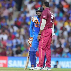 India vs West Indies: Jadeja's dismissal sparks controversy in 1st ODI after umpire's late decision