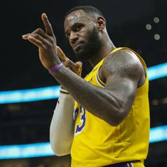 NBA: LeBron James, Anthony Davis star as Lakers beat Blazers; Bucks blow past Magic