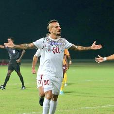 I-League: Mohun Bagan ride on Gonzalez brace to down Gokulam Kerala, Punjab FC see off Indian Arrows
