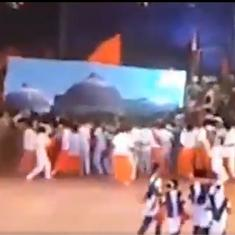 Babri demolition re-enactment: RSS leader among five booked by Karnataka Police