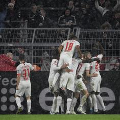 Bundesliga: Leipzig survive in thrilling draw against Dortmund to move three points clear at top