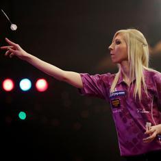 Video: Fallon Sherrock becomes first woman to beat a man at World Darts Championship
