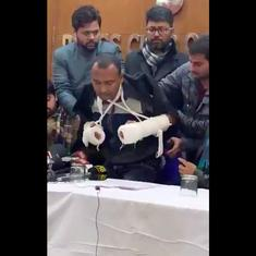'Recite the kalima now:' Watch injured Jamia student recount threats from Delhi police
