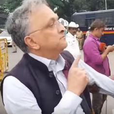 Citizenship Act protests: Historian Ramachandra Guha among hundreds detained in Bengaluru