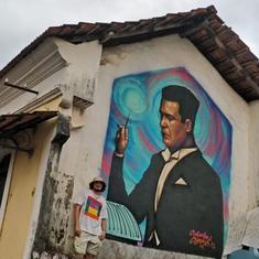 Artist FN Souza's grandson is putting his art and soul on Goa's streets
