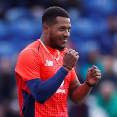 Watch: England's Chris Jordan takes stunning diving catch in Big Bash League