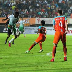 I-League: Chennai City slip to seventh place after 2-2 draw with Neroca FC