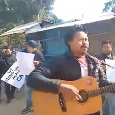 Watch: Residents of Manipur are protesting against the Citizenship Act with this song
