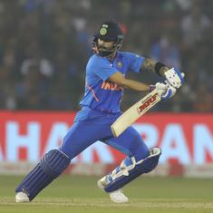 Third ODI: Kohli stars in run-chase as India defeat West Indies in high-scoring series decider