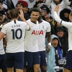 Premier League: Tottenham bounce back from goal down to overcome Brighton on Boxing Day