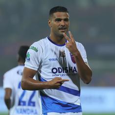 ISL: Odisha FC ride on Aridane Santana's brace to beat Jamshedpur