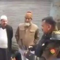 'Go to Pakistan': Meerut police officer caught on camera telling anti-CAA protestors