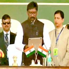 Hemant Soren sworn in as Jharkhand chief minister