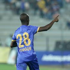 ISL: Moudou Sougou nets brace against Hyderabad FC as Mumbai City claim first home win