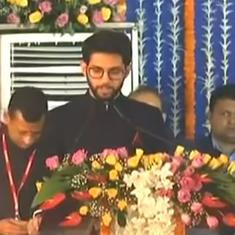 Maharashtra Cabinet expansion: Ajit Pawar sworn in as deputy CM, Aaditya Thackeray becomes minister