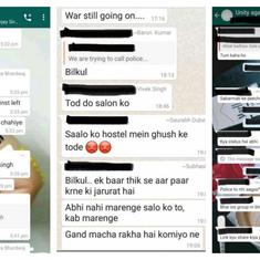 JNU: WhatsApp messages planning attack traced to ABVP activists