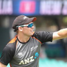 Cricket: New Zealand's Tom Latham likely to miss India T20I and ODI series due to finger injury