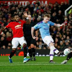 How long did Manchester City prepare tactically to face United? Just 15 minutes, says de Bruyne