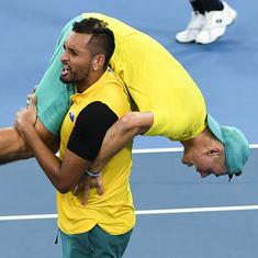 ATP Cup: Nick Kyrgios, Alex de Minaur lead Australia to epic win over Britain in quarter-finals