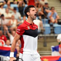 ATP Cup: Novak Djokovic powers Serbia into semi-finals with tough win over Canada's Denis Shapovalov
