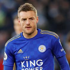 Vardy's loyalty to Leicester City adds to his legacy: Coach Rogers after striker nets 100th PL goal