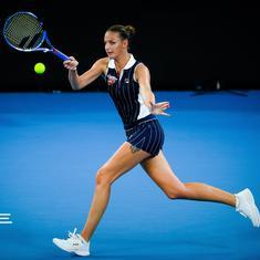 Pliskova beats Osaka in marathon, Keys rallies against Kvitova to set up Brisbane final