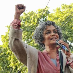 CAA protests: Arundhati Roy visits Jamia, says 'hope government will be in detention centre one day'