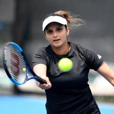 Dubai Open: Sania Mirza enters doubles second round with thrilling win, Belinda Bencic knocked out