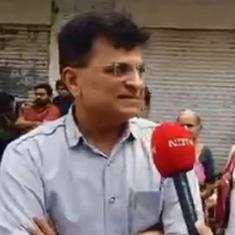 'I have already answered that': BJP's Kirit Somaiya responds to all questions with the same line
