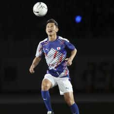 Miura, 52, extends record as oldest professional footballer after signing contract with Yokohama FC
