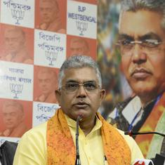 'Shot like dogs' remark: TMC workers file police complaints against BJP Bengal chief Dilip Ghosh