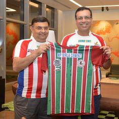 ISL: ATK Mohun Bagan owner Sanjiv Goenka on retaining green and maroon jersey, future plans and more