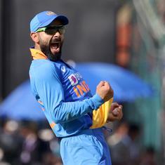 Watch: Virat Kohli takes a spectacular catch to dismiss Marnus Labuschagne in 3rd ODI
